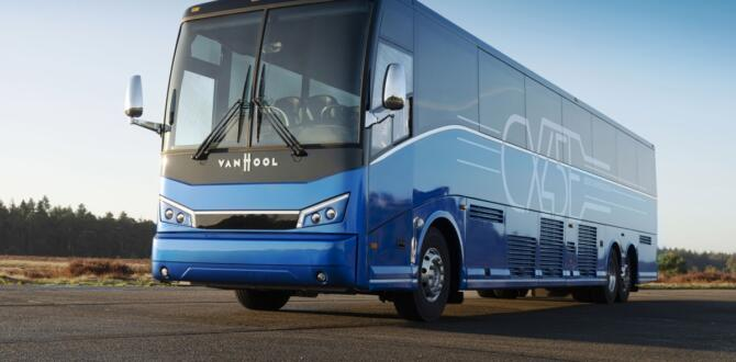 Van Hool İlk Elektrikli Şehirler Arası Otobüs Kuzey Amerika'ya