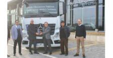 Mercedes-Benz Bayraktarlar Merkon'dan Küçük Uluslararası Nakliyat'a 15 Adet Actros