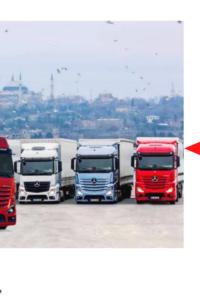 Çekici Kamyon Pazarı Türkiye Lideri Mercedes Benz Oldu