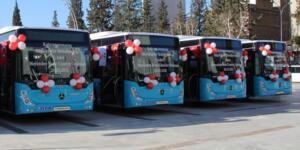Kahramanmaraş'a 5 Yeni Otobüs