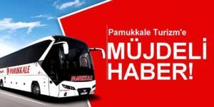 Pamukkale Turizm Müjdeli Haberi Aldı!