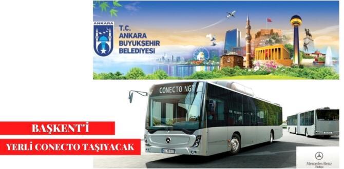 Ankara'nın Yerli Otobüs İhalesi Sonuçlandı