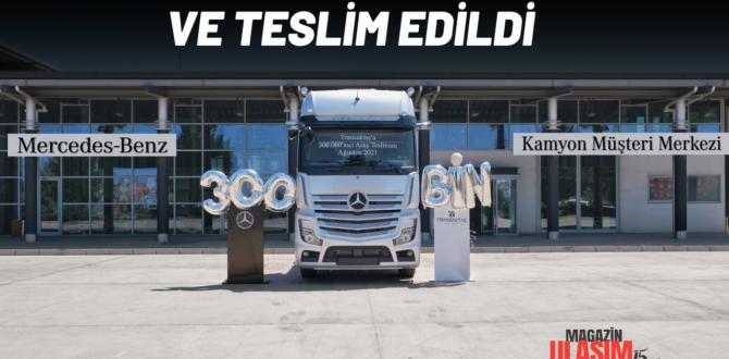 300 BİNİN TESLİMATI TRANS AKTAŞ'A