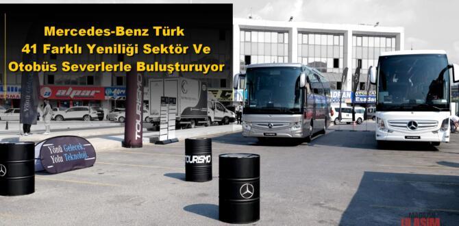 Mercedes-Benz Türk 41 Farklı Yeniliği Tanıtıyor