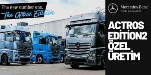 Kamyonun Maybach'i Mercedes Benz Actros Edition 2 Özel Üretim Belgeseli